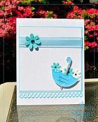 Bridal Shower Wishes hybrid card