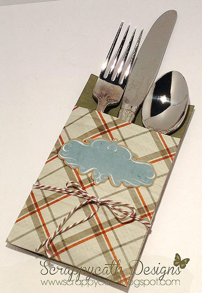 Silverware Holder/Place Card