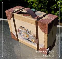 Suitcase for mini album
