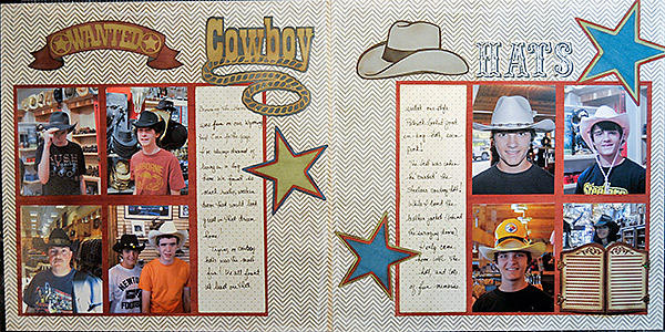Wanted: Cowboy Hats (Interactive Hybrid Layout)