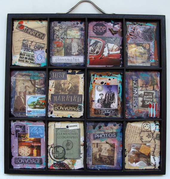 Altered 7Gypsies Tray