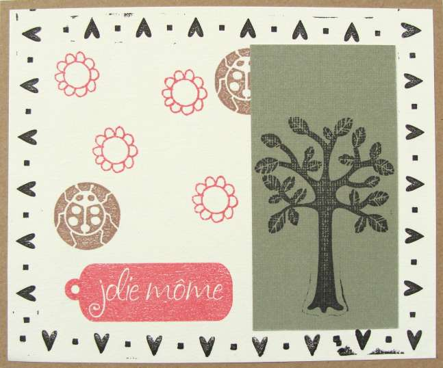 Jolie Mome Card (Pretty Kid) - Absolument Scrap