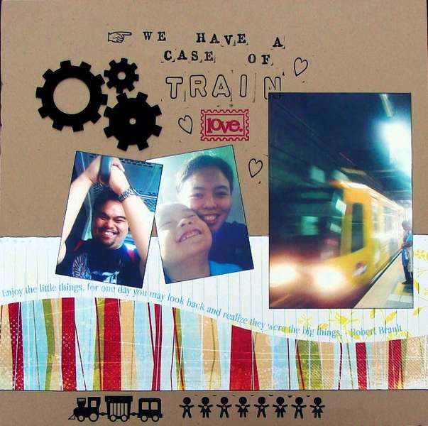 Train Love *Ad This DT* plus Maya Road CHA goodies