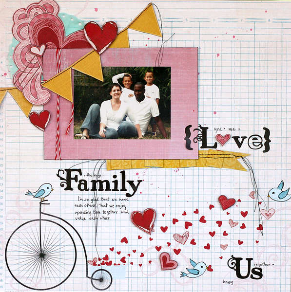 love. family. us