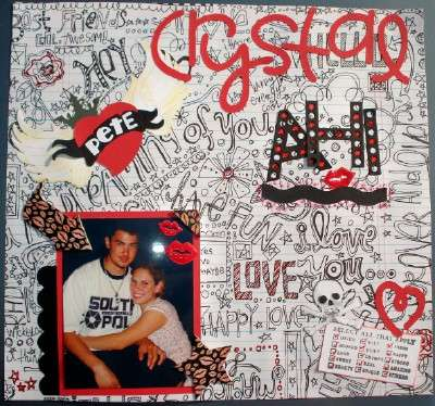 """CRYSTAL 3""""BINDER COVER W/BF ELSIE PP"""