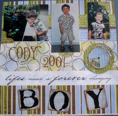 ALL BOY! CODY 2001
