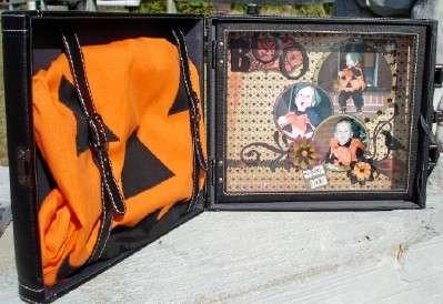 Cosmo Cricket Suitcase ~BOO~
