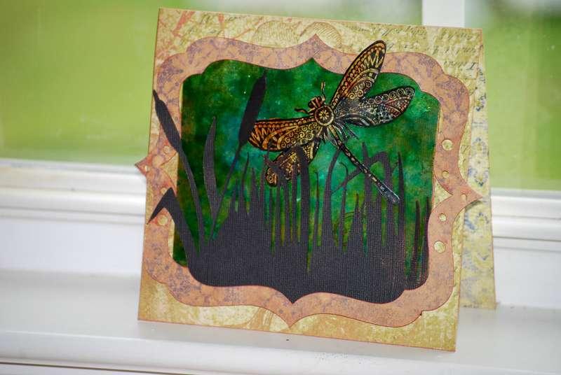 Dragonfly Card ~Tutorial~