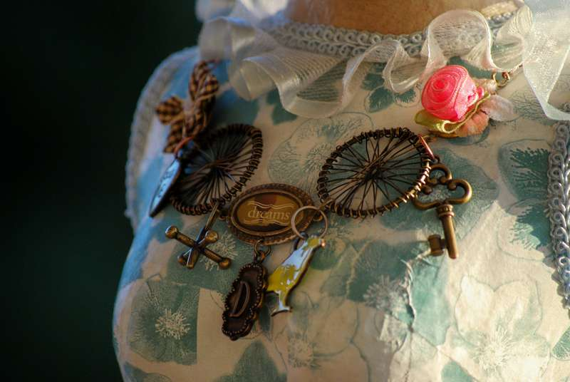 Steampunk Necklace Making Memories Jewelry