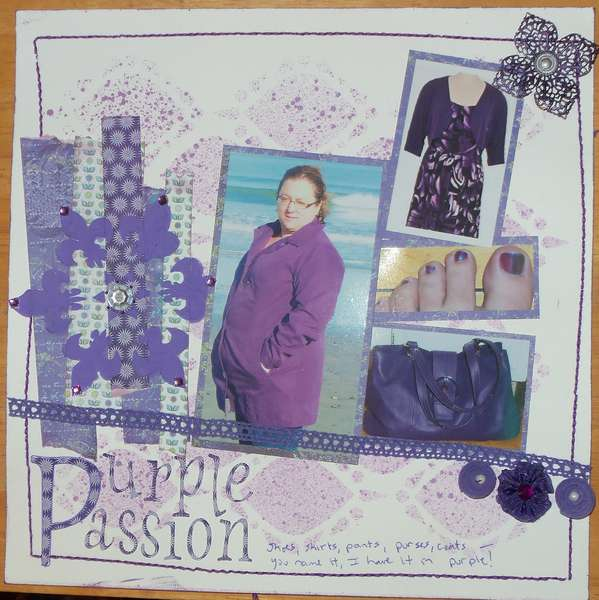 Purple Passion - Fashion Challenge