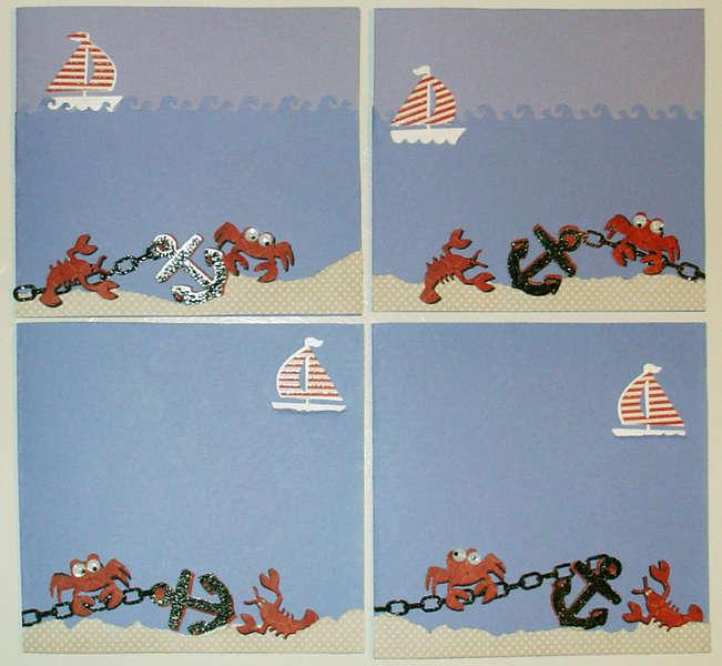 Nautical Cards Design 2