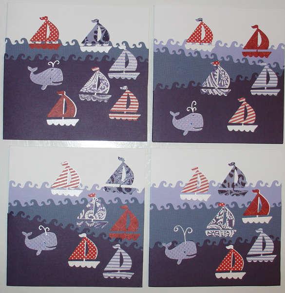 Nautical Cards Design 3