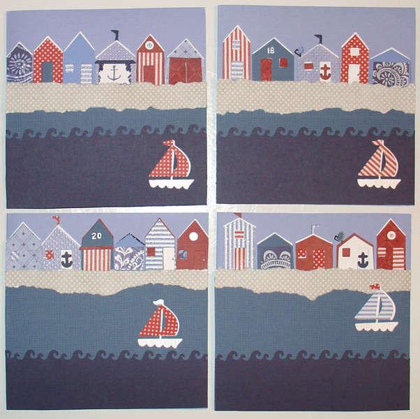 Nautical Cards Design 4