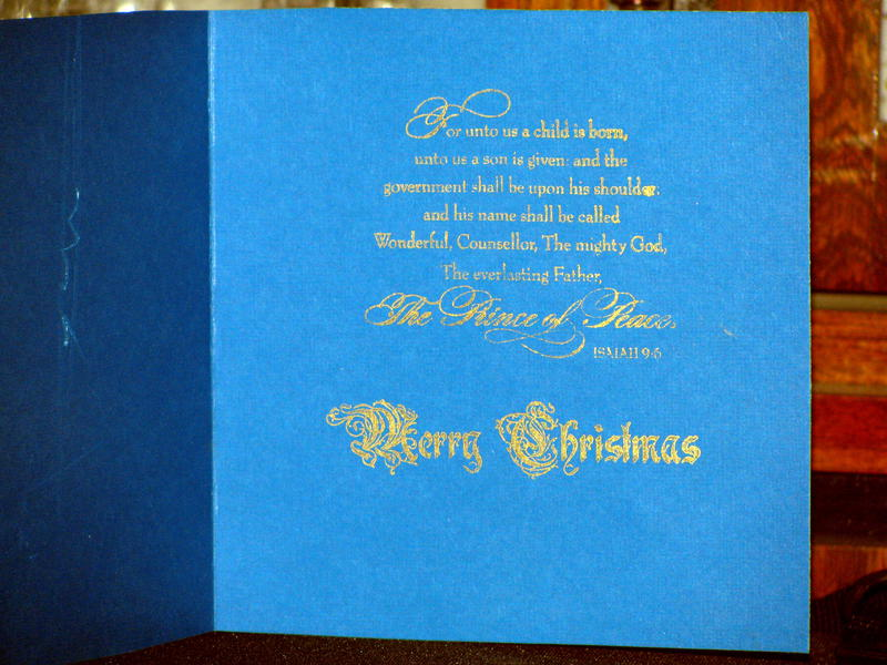 Christmas 2011 Sentiment