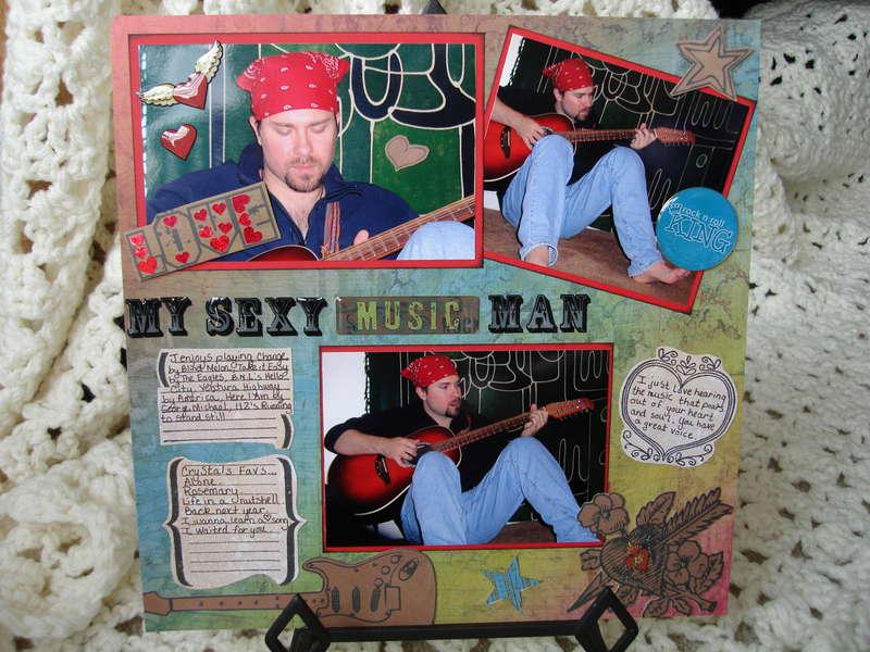 Love My Sexy Music Man