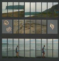 Costa Rica Black Sand Beach
