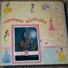 Carmen's 6th Princess Birthday party