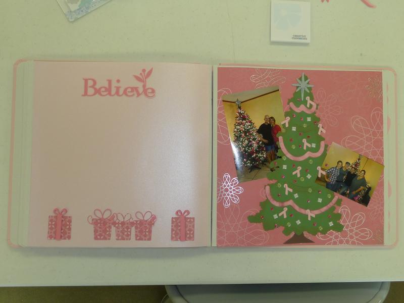 Breast Cancer Awareness Christmas Tree