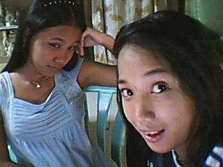 me with my sister ara