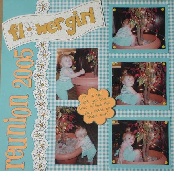 Suttyn's Flower girl
