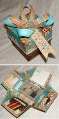 Explosion Box - stationery set