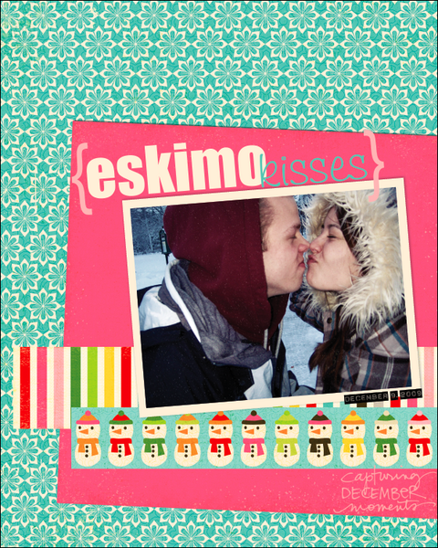 eskimo kisses