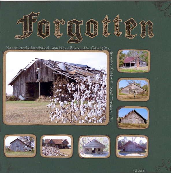 Forgotten~Multi pic/No ppl challenge