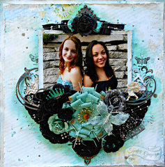 Beautiful Besties **Swirlydoos July Kit-Celestial summer**