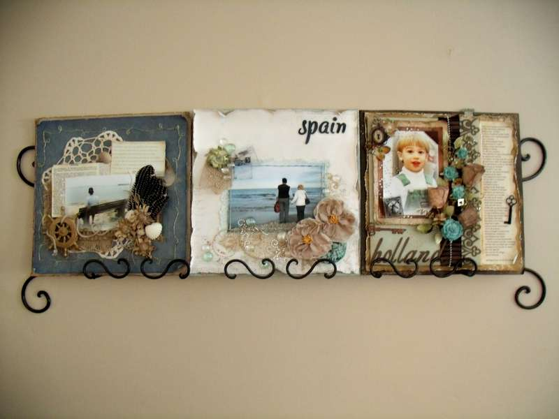 Thrift Store Page Holder idea