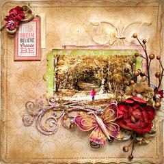 Create **C'est Magnifique February Kit**
