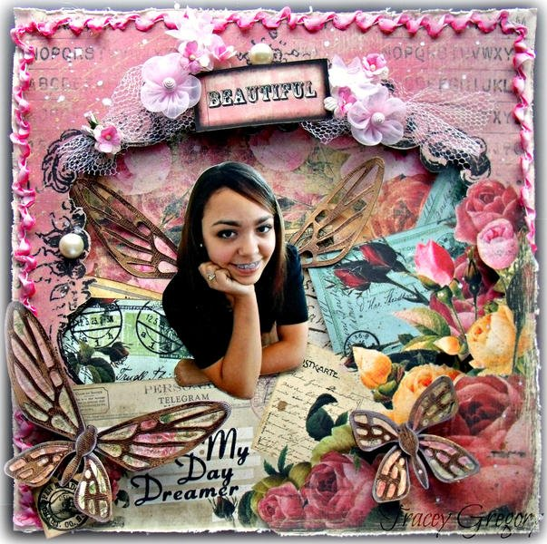 Daydreamer **DT work for ScrapThat! Feb Kit**
