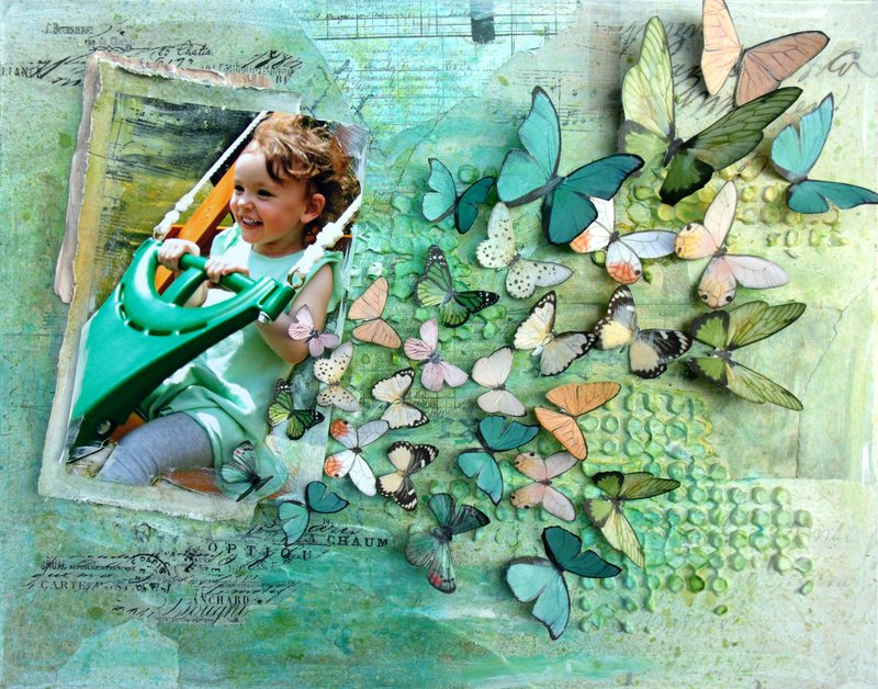 Defying Gravity **ScrapThat! July Kit**