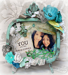 You Are My Happiness  **Swirlydoos Frame kit**