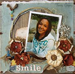 ***Just Smile***ScrapThat! April kit
