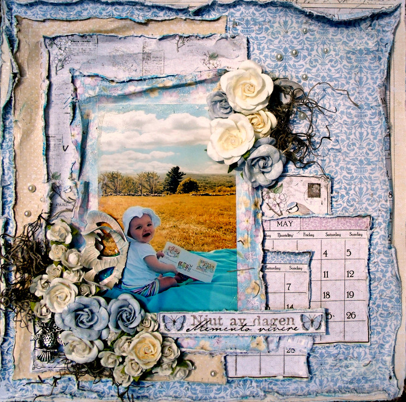 Spring in the Meadow   ***ScrapThat! August Kit***