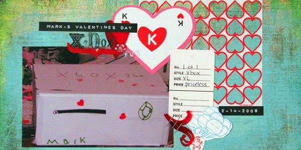 Valentine x-box