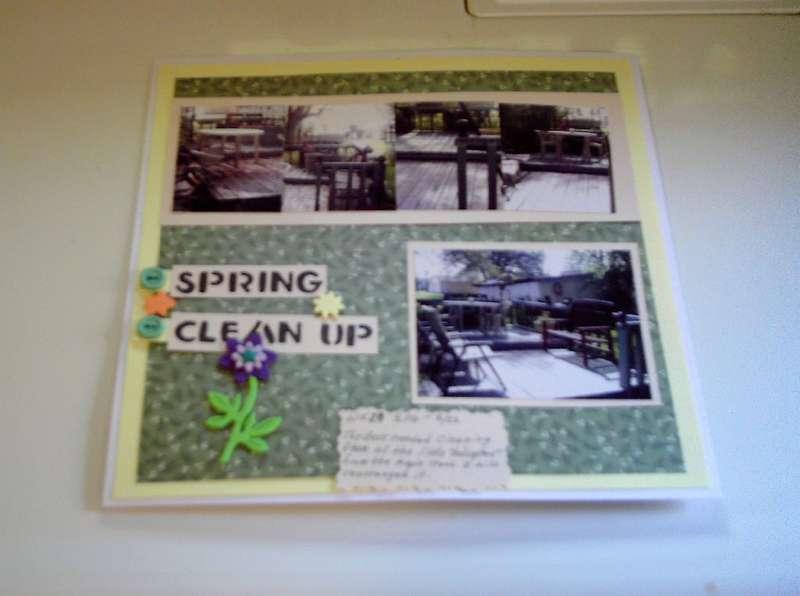 Wk.20 Spring Cleanup