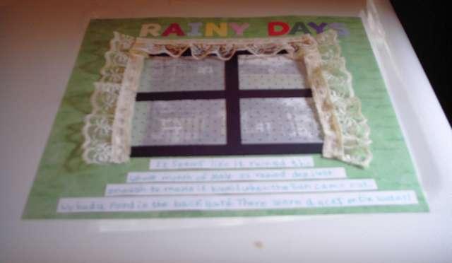 Rainy Day - Week 17
