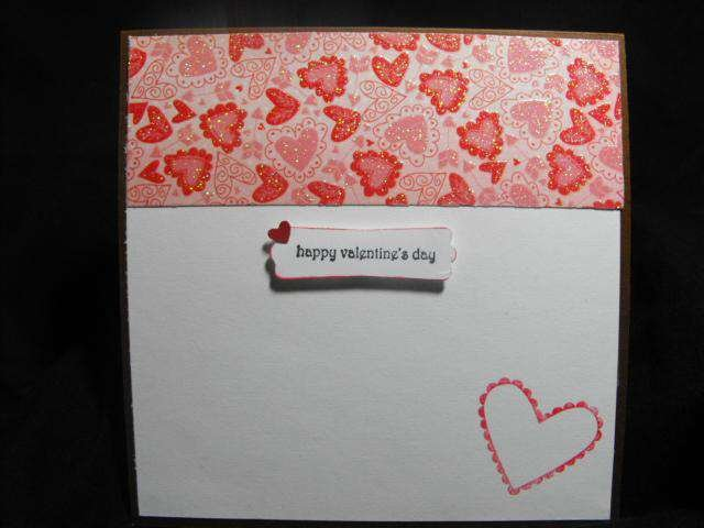 Valentine's Card - Inside