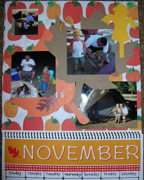 2007 Calendar - November