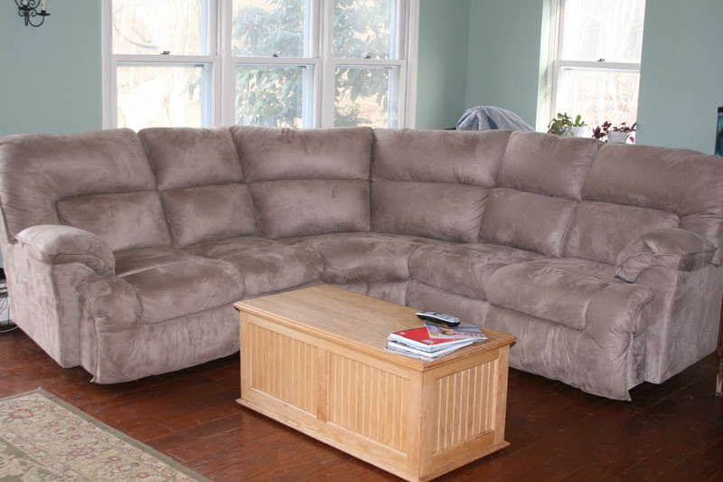 4/7  My New Couch