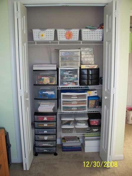 My closet!