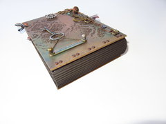 Steampunk Debutante Paper Bag Mini Album
