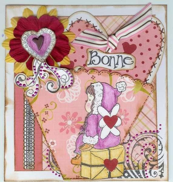 """Carte """"Bonne St Valentin"""""""
