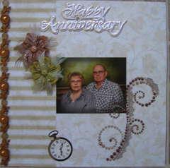 50th Wedding Anniverary