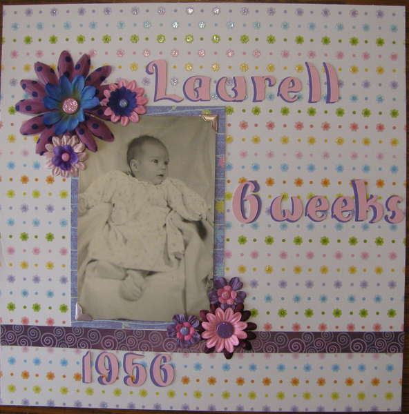 Laurell at 6 weeks