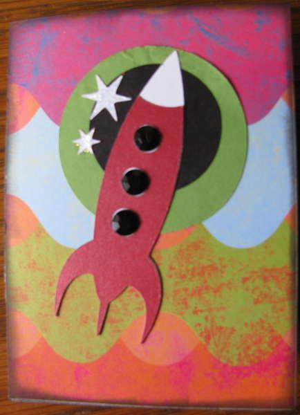 Rocket Man birthday card