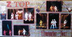 ZZ TOP - Eliminator Tour