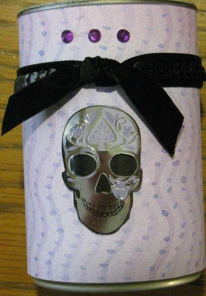 Skull Pen cup