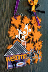 Welcome (fall door sign)